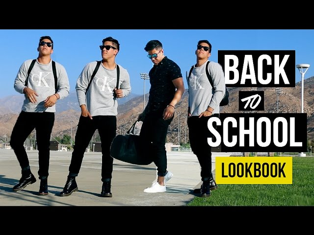 Back To School College Outfits Ideas Men S Fashion Health Help