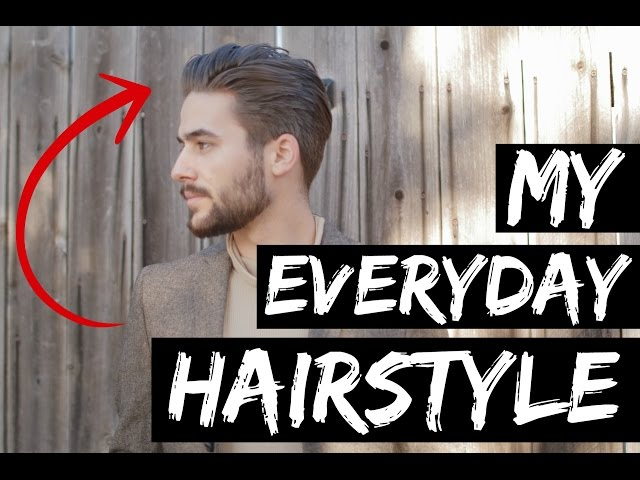 Mens Hairstyle 2015 Classic Comb Over Hairstyle Best